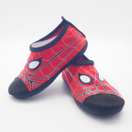 China Convenient Kids Aqua Water Shoes Spider Man Cartoo Pattern Size 21 - 33 supplier