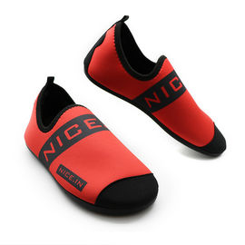 China Red Neoprene Winter Fur Shoes Neoprene And Faux Fur Synthetic Upper Material factory