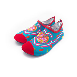 Barefoot Aqua Socks Water Skin Shoes Customized Red Heart Quick - Drying