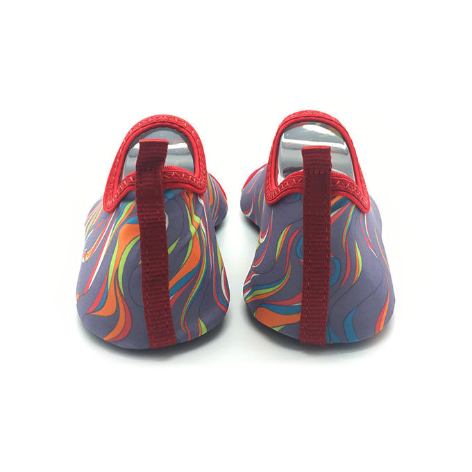 Colorful Soft Aqua Socks Water Skin Shoes Quick Dry Customized Printing
